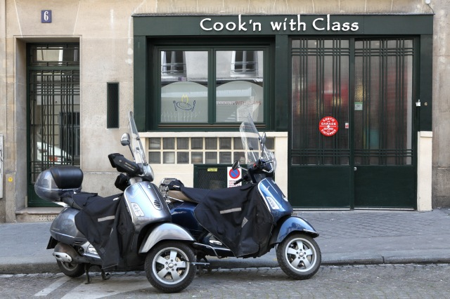 Cook'n with Class; a boutique cooking school nestled in the backstreets of Montmartre. Photo: Vincent Bourdon
