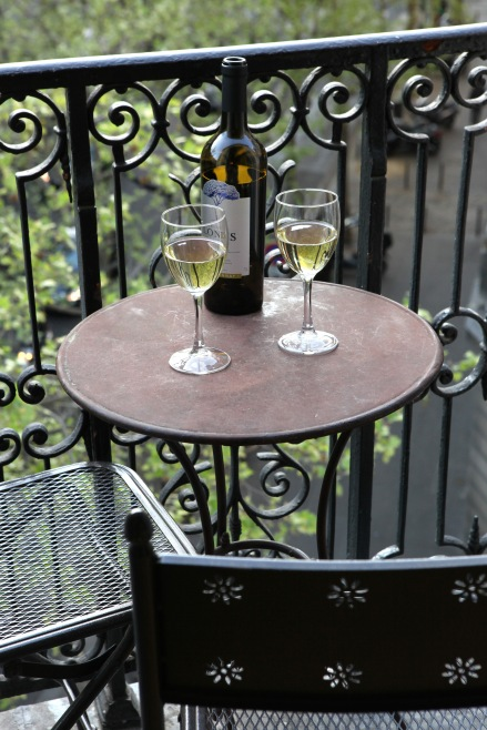 Relax on your little balconette; Paris Perfect apartments. Photo: Vincent Bourdon